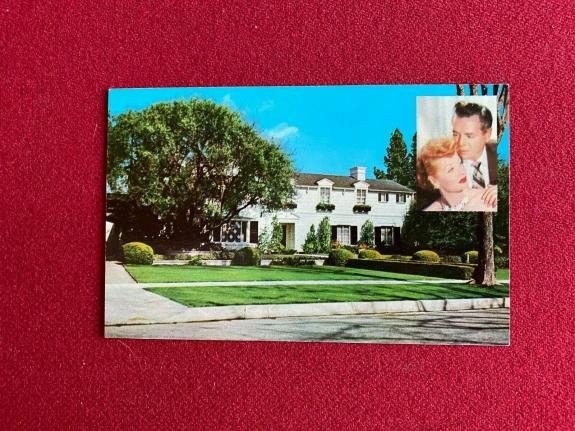 """1960's, Lucille Ball """"Un-Used"""" Post Card (Scarce / Vintage) (I Love Lucy)"""