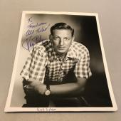 1960's Ray Bolger Wizard Of Oz Scarecrow Signed Autographed 8x10 Photo JSA COA
