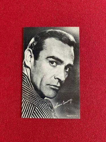 "1960's, Sean Connery, ""Exhibit"" Card (Scarce / Vintage) James Bond 007"