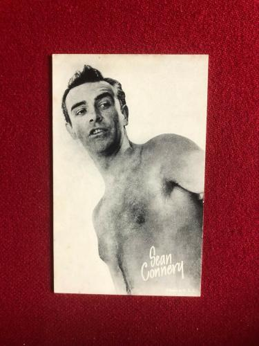 "1960's, Sean Connery, ""Exhibit"" Card (Scarce / Vintage) James Bond"