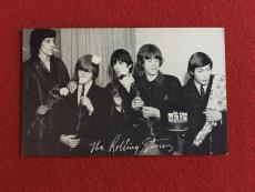 1960's,Rolling Stones (Mick Jagger /Keith Richards),Vintage Exhibit Card -Scarce