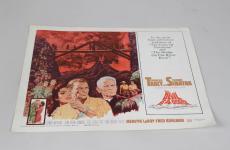 1961- The Devil At 4 O'Clock- Spencer Tracy & Frank Sinatra Lobby Card