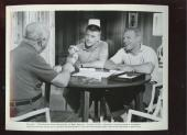 1962 Movie Safe At Home Publicity Photo Mickey Mantle Roger Maris Bill Frawley
