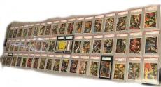 1962 Topps Mars Attacks Complete PSA SGC Graded Set (EX Condition)