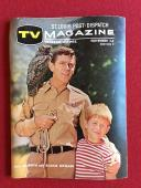 "1963, Andy Griffith / Ron Howard, ""St Louis Post-Dispatch TV Magazine"" (Scarce)"