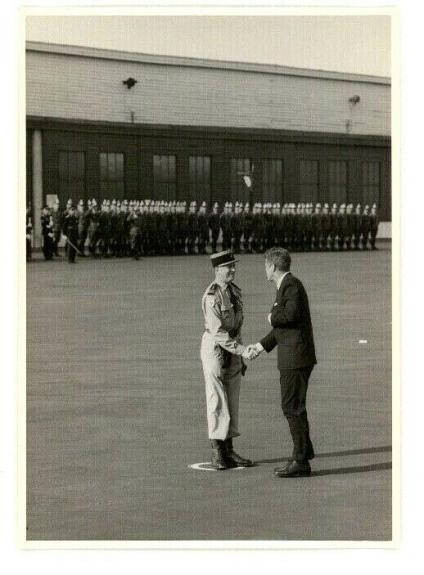 1963 President John F Kennedy Berlin Trip, Departing From Berlin, Wire Photo