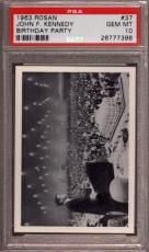 1963 Rosan John F. Kennedy #37 Birthday Party Pop 2 Psa 10 N2402661-398
