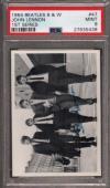 1964 Beatles B&w #47 John Lennon Pop 1 Psa 9 N2499159-438