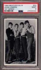 1964 Beatles B&w #50 John Lennon Pop 3 Psa 9 N2499161-440