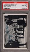 1964 Beatles B&w #68 George Harrison Pop 3 Psa 8 N2505101-656