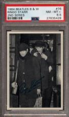 1964 Beatles B&w #76 Ringo Starr Pop 2 Psa 8.5 N2499202-428