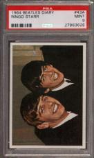 1964 Beatles Diary #43a Ringo Starr Pop 4 Psa 9 N2504764-628