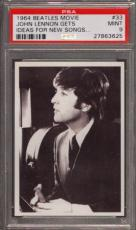1964 Beatles Movie #33 John Lennon Gets Pop 7 Psa 9 N2504767-625