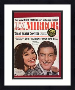 "1964, Dick Van Dyke / Mary Tyler Moore, ""TV Radio Mirror"" Magazine (No Label)"
