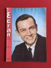 """1964, Sean Connery (James Bond), """"Ecran"""" Magazine (Scarce)"""