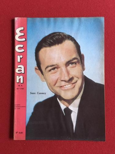 "1964, Sean Connery (James Bond), ""Ecran"" Magazine (Scarce)"