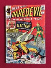 "1964, Stan Lee, ""Autographed"" (JSA) ""DAREDEVIL #2""  Comic Book (Scarce)"
