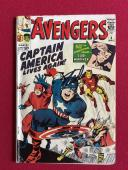 "1964, Stan Lee, ""Autographed""(JSA) ""The Avengers"" ,Silver Capt. America (Scarce)"