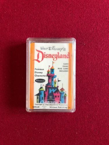 "1964, Walt Disney, ""Disneyland"" Card Game Set (Complete) Scarce"