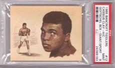 1965 Bancroft Tiddlers ~ CASSIUS CLAY / MUHAMMAD ALI Rc ~ PSA 9 Boxing Rookie