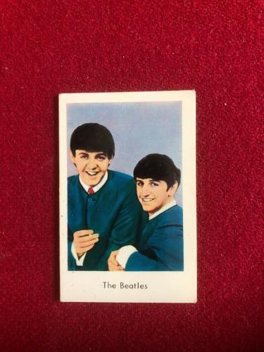 "1965, BEATLES, ""Swedish POP Stars Cards"" (Scarce) Ringo Starr"