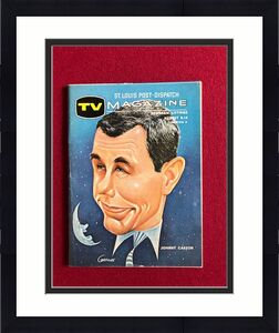 "1965, Johnny Carson, ""TV Magazine"" (No Label) Scarce"
