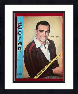 "1965, Sean Connery (James Bond) , ""ECRAN"" Magazine (No Label) Scarce"