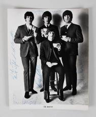 1965 The Beatles Signed Photo John Lennon, Paul McCartney, George Harrison & Ringo Starr Meet Elvis Presley (Provenance Letter) JSA Full LOA