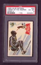 1966 A & BC BATMAN #4A PSA EX-MT 6 Target Of The Trapper Series A