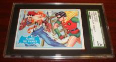 1966 Batman #27b Pasting The Painter Robin Adam West Signed Jsa Sgc Autograph