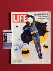 "1966, Batman (Adam West) (Deceased),""Autographed"" (JSA) ""LIFE"" Magazine (Scarce)"