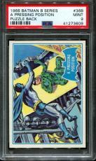 1966 Batman B Series #36b A Pressing Puzzle Back Pop 4 Psa 9 N2599604-609