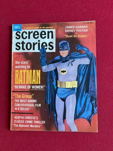 "1966, BATMAN, ""Screen Stories"" (No Label) Magazine (Scarce / Vintage)"