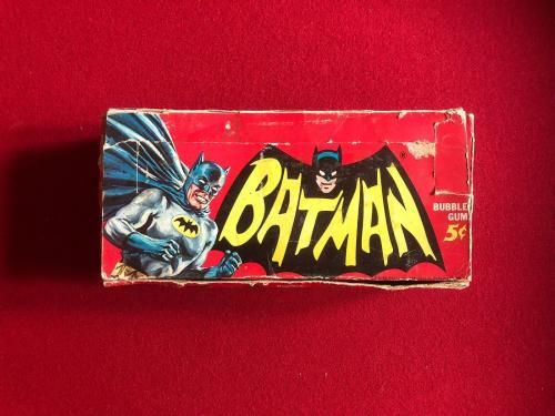 1966 Batman, Trading Card Display Box (Scarce)