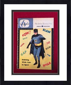 """1966, BATMAN, """"TV CHANNELS"""" Guide (RARE)  ZAP!! POW!!"""