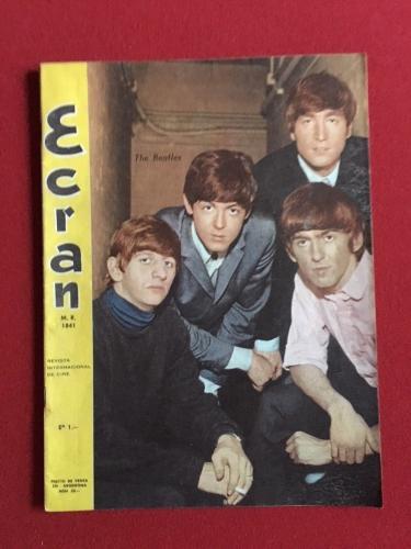 "1966, Beatles, ""Ecran"" Magazine (Rare)"