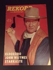 "1966 John Wayne, ""REKOPD"" Magazine (No Label)"