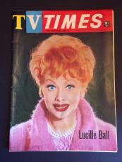 "1966 Lucille Ball, ""TV TIMES"" Program Guide"
