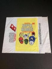 1966 Marvel Super Heroes Trading Card Wrapper (Donruss)