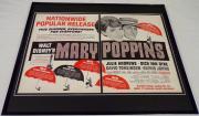 1966 Mary Poppins 16x20 Framed ORIGINAL Industry Advertisement Julie Andrews