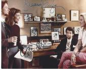 """1966 Movie """"GRACE of MY HEART"""" Signed by ILLENA DOUGLAS, JOHN TURTURRO, ERIC STOLTZ, and PATSY KENSIT 10x8 Color Photo"""