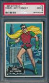 1966 Robin Boy Wonder Batman Card #2 Grade Psa 2 #25463768
