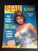 "1966, Sophia Loren, ""BEAU"" Magazine (No Label)"