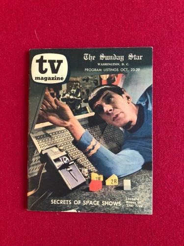 "1966, Star Trek, Mr. Spock, ""TV Magazine"" (Scarce)"