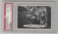 1966 Superman To The Rescue Card #34 Psa 8.5 Nm-mt+ Well Centered
