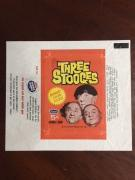 1966, Three Stooges, Trading Card Wrapper (Scarce)