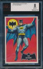 1966 Topps Batman The Batman Card #1 Beckett Bvg 8 Nm-mt #0006363726
