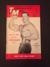 "1967 Arnold Schwarzegger, ""Tomorrow's Man"" Magazine (No Label)"