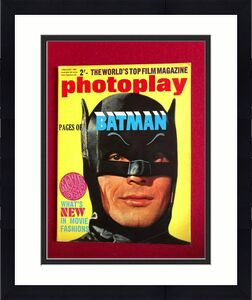 "1967, BATMAN, ""Photoplay"" Magazine (No Label) Scarce / Vintage"