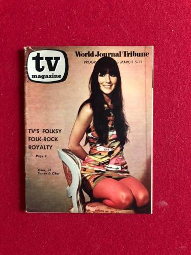 "1967, CHER, ""TV"" Magazine (No Label)"